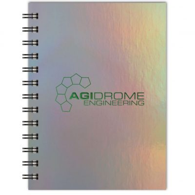 "Holographic Rainbow™ Journals NotePad (5""x7"")"