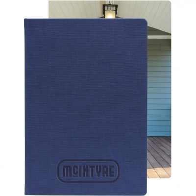 """Large Bohemian™ Textured Journal w/Full-Color Tip-in (7""""x10"""")"""