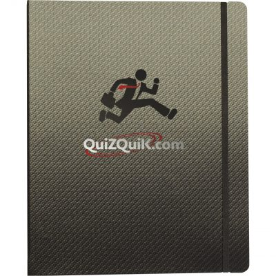 "Large Refillable Deluxe Binders (8.5""x11"")"