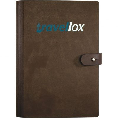 "LeatherWrap™ Medium Refillable Journal (5.5""x8.5"")"