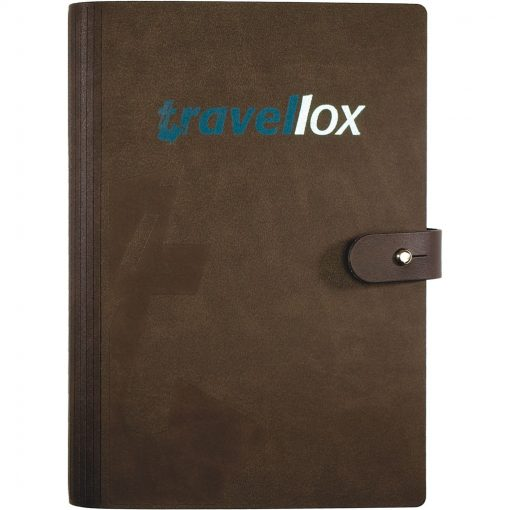 "LeatherWrap™ Medium Refillable Journal (5.5""x8.5"")"
