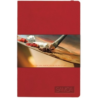 "Mini SoftPedova™ Journal w/Full Color GraphicWrap (3.5""x5.5"")"