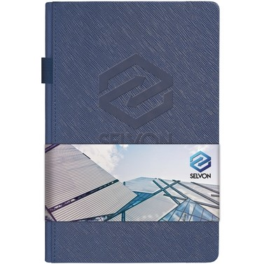 "Modena™ Journal w/Full Color Graphic Wrap (5.5""x8.25"")"