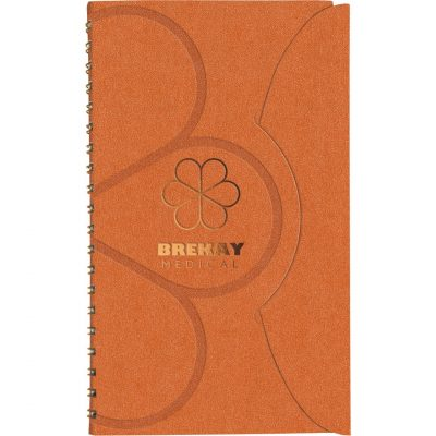 "PocketTuc™ Prestige Wire-Bound Journal (4""x7"")"