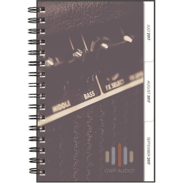 "Small ClearView TabbedQuarterly™ Planner (5.5""x8.5"")"