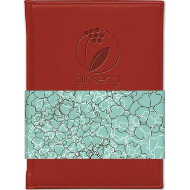 "Small Pedova™ Journal w/Full Color GraphicWrap (5""x7"")"