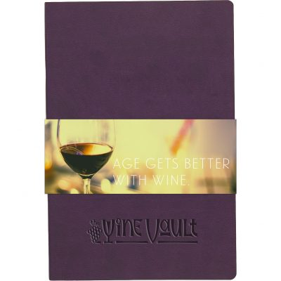 "SoftPedova™ Journal w/Full Color GraphicWrap (5.5""x8.25"")"