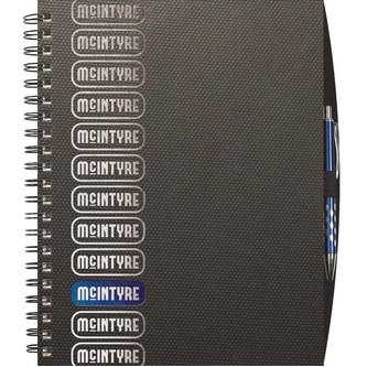 "TechnoMetallic™ Journals Medium NoteBook (8.5""x11"")"