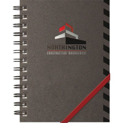 "TechnoMetallic™ Journals NotePad (5""x7"")"