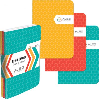 """ValueColor™ TriPac NotePad w/GraphicWrap (3 Count) (5""""x7"""")"""