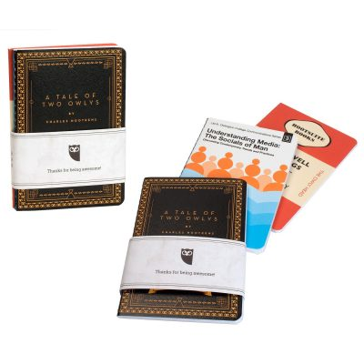 Set of 3 Full Color Commuter Journals with Belly Band