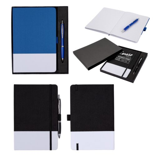Abbot Antimicrobial Notebook and Pen Set