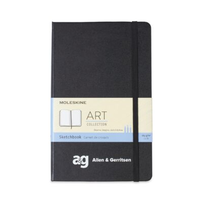 Moleskine® Hard Cover Large Sketchbook - Black