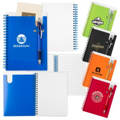 New Pocket Buddy Notebook w/Matching Pen
